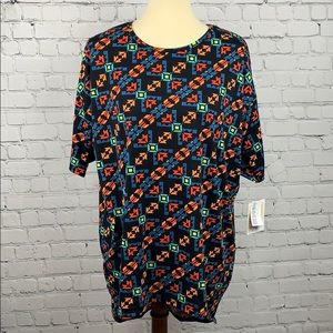 LuLaRoe Irma Tunic Style High Low Top Small
